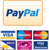 Pay Securely by Credit or Debit Card through Paypal. Paypal Account NOT required.